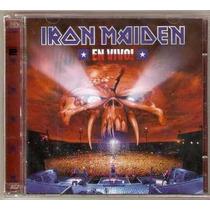 Iron Maiden En Vivo Cd Duplo Lacrado Original
