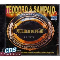 =cd Teodoro & Sampaio - Mulher De Peão - Ao Vivo