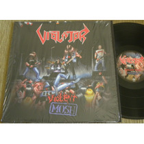 Violator Violent Mosh Lp Kreator Slayer Sodom Hellhammer
