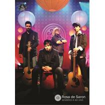 Rosa De Saron - Acústico E Ao Vivo - Dvd Novo Lacrado
