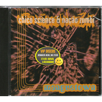 Chico Science E Nação Zumbi Cd Single Promo Manguetown Raro