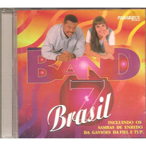 Cd Band Brasil 7 - So Pra Contrariar Arlindo Cruz Bene Alves