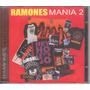 Ramones Mania 2 Cd Raro Novo Lacrado Original 25 Faixas Veja