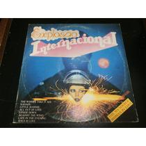 Lp Explosão Internacional - Diversos, Disco Vinil, Ano 1980