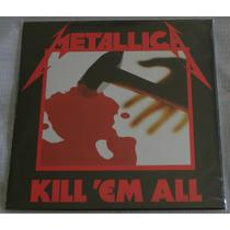 Metallica Kill Em All Lp Selado Made In Europe Blackened