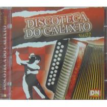 Cd Luizinho Calixto - Discoteca Do Calixto Vol. 02