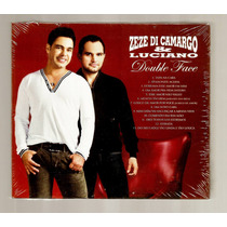Zezé Di Camargo E Luciano Cd Duplo Double Face Digipack Box