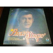 Lp Paulo Sergio, Última Canção, Disco Vinil, Ano 1987