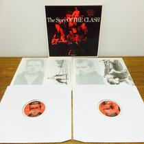 Lp The Clash - Story Of Import 1ª Prensa 88 Dupl Encarte Exc