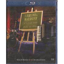 Blu-ray Bruno E Marrone - De Volta Aos Bares - Ao Vivo (bd)