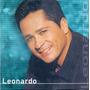 Cd Leonardo - Quero Colo - Novo***