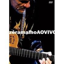 Dvd Zé Ramalho - Ao Vivo (dvd Original E Lacrado)