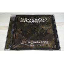 Cd + Dvd Rhapsody - Live In Canada 2005 (novo Lacrado)