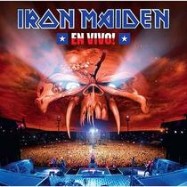 Cd Iron Maiden - En Vivo Duplo