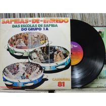 Sambas Enredo Escolas De Samba Do Grupo 1a 1981 - Lp Encarte