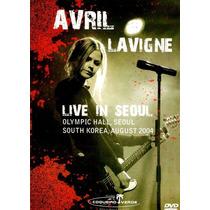 Avril Lavigne Live In Seoul Dvd Raro Original Novo Lacrado!!