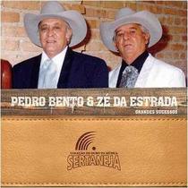 Cd Pedro Bento & Zé Da Estrada 14 Grandes Sucessos - Novo Nf