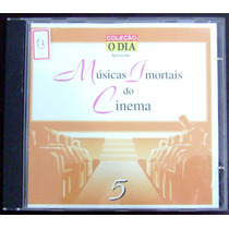 Cd Músicas Imortais Do Cinema 5 - Coleção O Dia