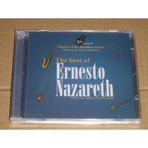 Ernesto Nazareth The Best Of Cd Novo E Lacrado