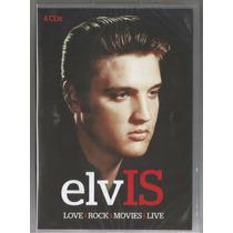 Elvis Presley-love,rock,movies,live (4 Cd