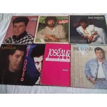 * Lote Lp Vinil - Jose Augusto - Com 7 Discos