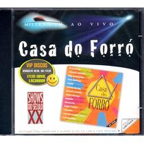 Cd Casa Do Forró Limão Com Ivete Sangalo Patricia Marx Raro