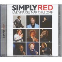 Simply Red - Live Vinâ Del Mar Chile 2009 Cd Original Novo