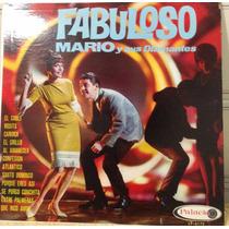 Lp Vinil - Fabuloso Mario Y Sus Diamantes. - Ótimo Estado.