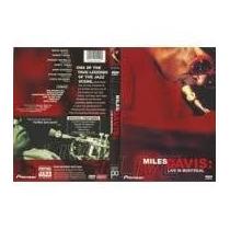 Miles Davis Live In Montreal - Dvd Original, Lacrado Raro