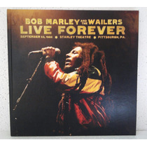 Box Bob Marley & The Wailers Live Forever 1980 3 Lps + 2 Cds