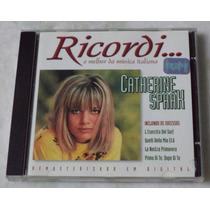 Cd Original Catherine Spaak O Melhor Da Música Italiana