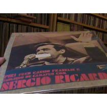 Lp Sergio Ricardo - Continental 1975 Peri...capa Dupla
