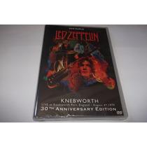 Dvd Duplo - Led Zeppelin - Live At Knebworth 1979 - Lacrado