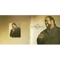 Cd Importado Barry White-the Icon Is Love