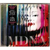 Cd Duplo Madonna Mdna Deluxe Edition Novo ( Lacrado )novo