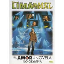 Dvd Limão Com Mel - Um Amor De Novela - Original - Lacrado