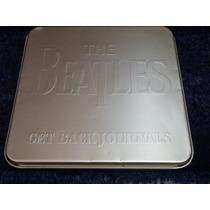 The Beatles - Raridade - Get Back Journals - A Lata Dourada