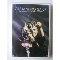 Alejandro Sanz: La Musica No Se Toca En Vivo - Dvd + Cd