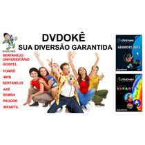 Dvdokê Sertanejo Pagade Infantil Gospel