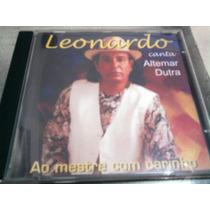 Cd Leonardo Canta Altemar 1997 1° Ed