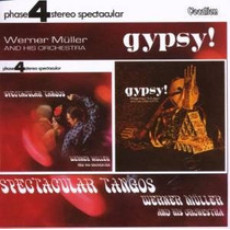 Cd Werner Muller & His Orchestra Spectacular Tangos Gypsy