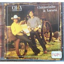 Cd - Chitãozinho & Xororó - Na Aba Do Meu Chapéu.