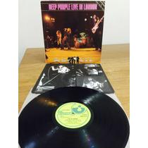 Lp Deep Purple - Live In London Imp Uk Early Press Laminada