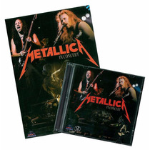 Lote Metallica Desconto! = Dvd + Cd Live Holland 1992 Lacrad