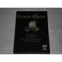 Dvd Opera Melhores Excertos De Uma Grande Coleção De Opera
