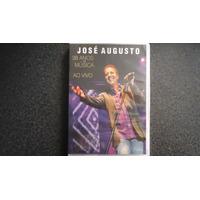 Dvd José Augusto 38 Anos De Música Ao Vivo