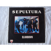 Sepultura-lp-vinil-slamdown-made In Germany