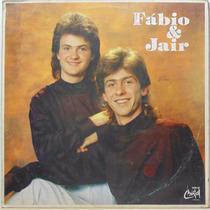 Lp Fabio E Jair - Vontade Doida - 1989 - Som De Cristal