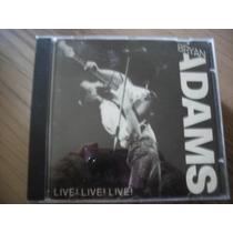 Cd Bryan Adams Live Live Live Produto Lacrado