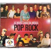 Cd As Novas Caras Da Musica Pop Rock